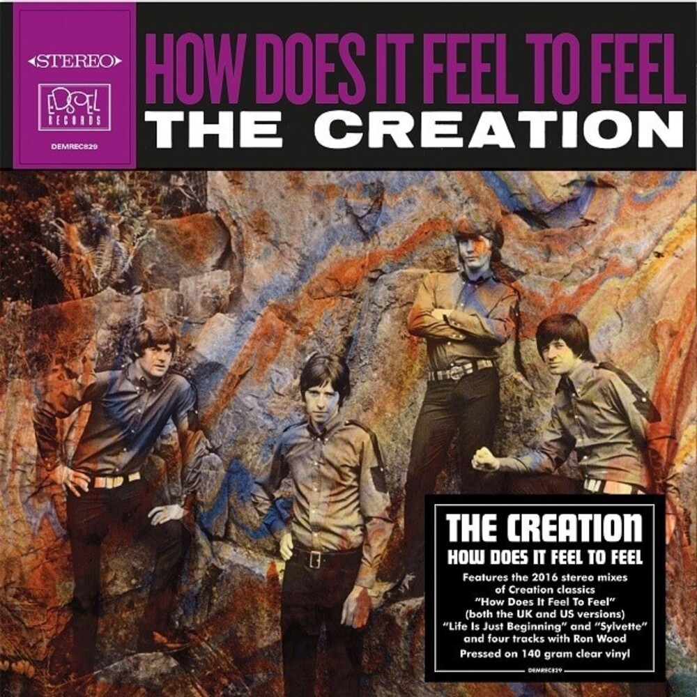Creation - How Does It Feel To Feel [Clear Vinyl] (Ofgv) (Uk)