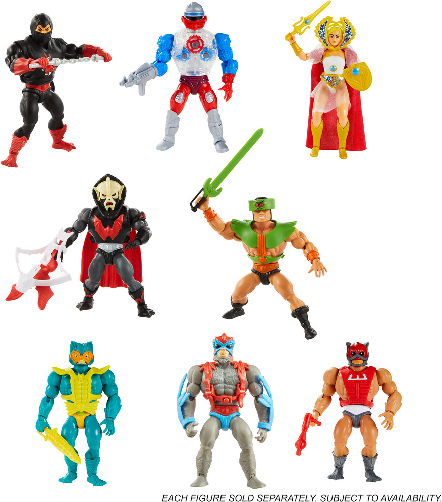 "Masters Of The Universe - Mattel Collectible - Masters of the Universe Origins 5.5"" Assortment (He-Man, MOTU)"