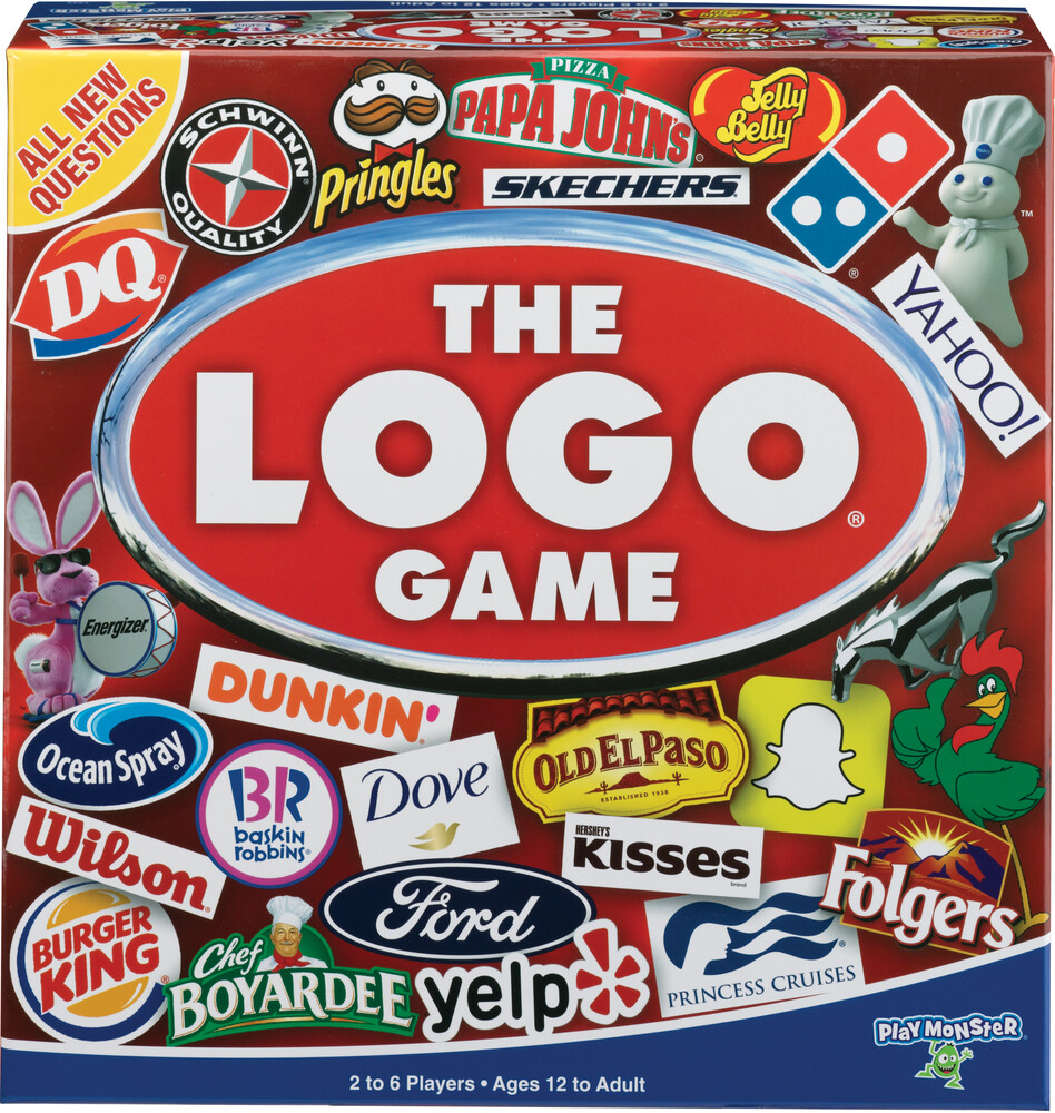 Logo Game It's the Game of Things You Know & Love - The Logo Game It's The Game Of Things You Know & Love