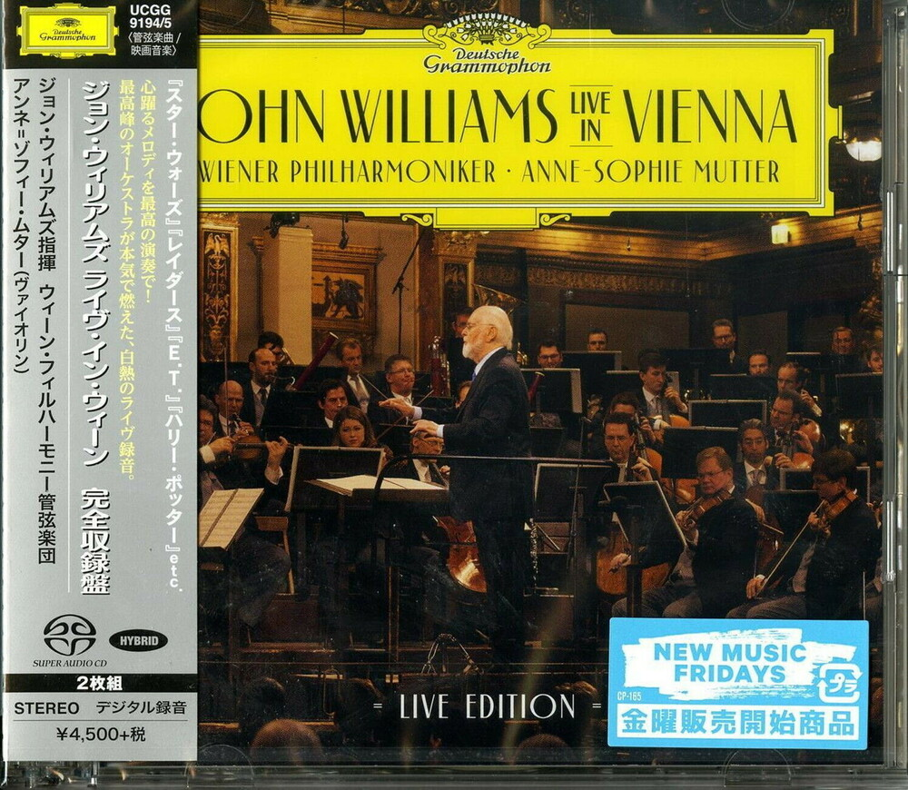 John Williams - John Williams: Live In Vienna (Hybr) (Jpn)