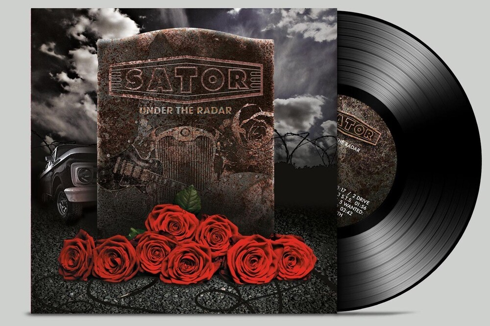 Sator - Under The Radar (Transparent Marble Gold/Black)