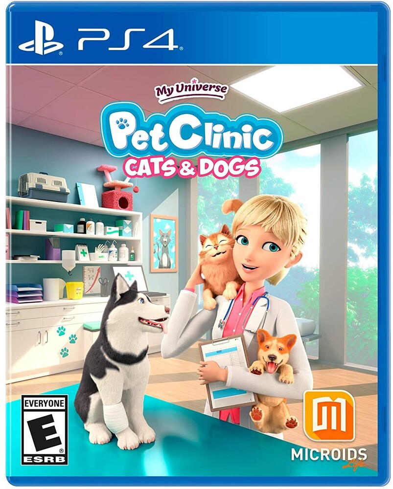 Ps4 My Universe - Pet Clinic: Cats & Dogs - Ps4 My Universe - Pet Clinic: Cats & Dogs