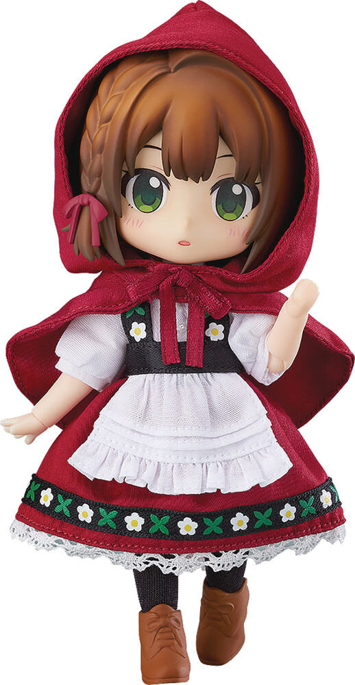 Good Smile Company - Good Smile Company - Nendoroid Doll Little Red Riding Hood Rose ActionFigure