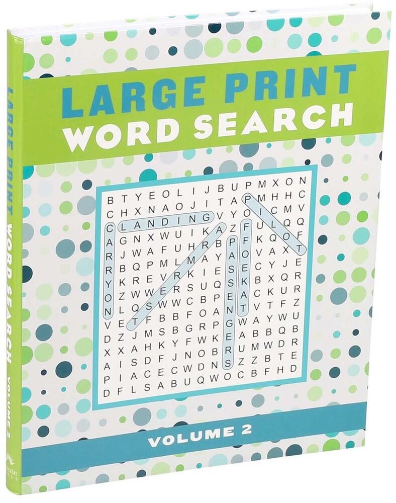 Editors of Thunder Bay Press - Large Print Word Search, Volume 2