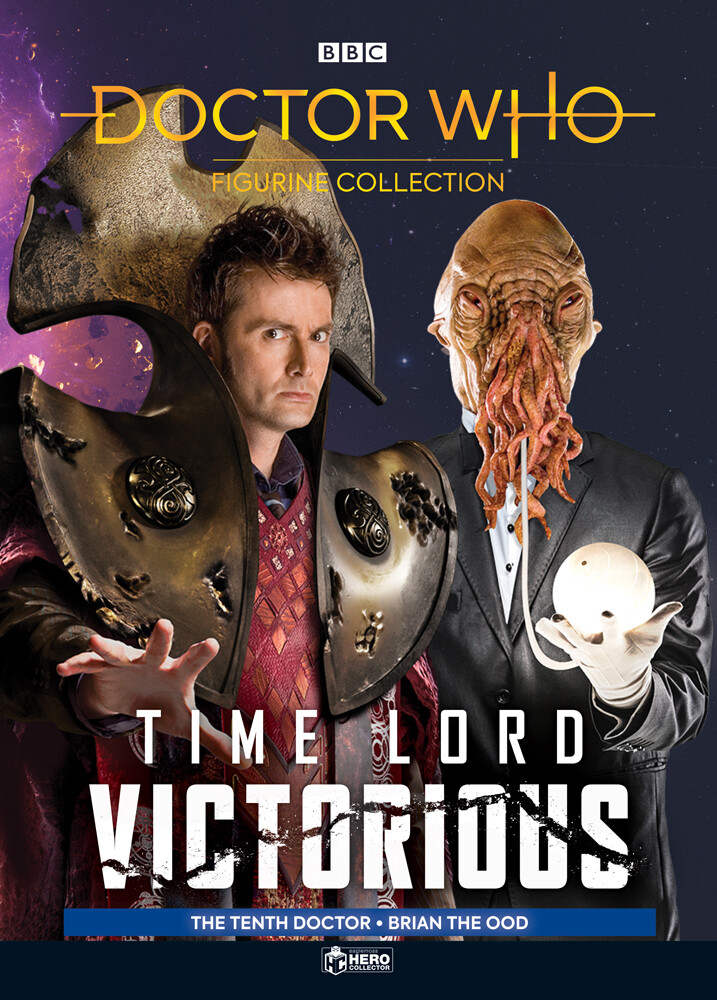 - Eaglemoss - Doctor Who - Time Lord Victorious and Brian the Ood