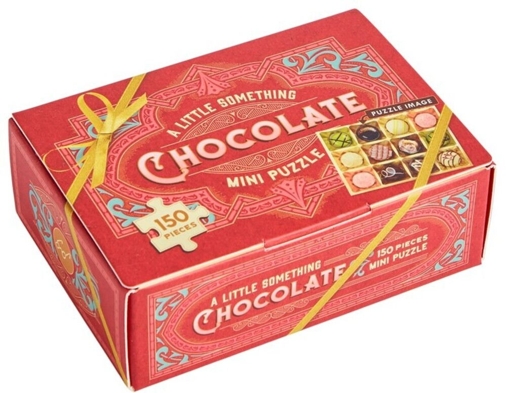 - A Little Something Chocolate: 150 Piece Mini Puzzle