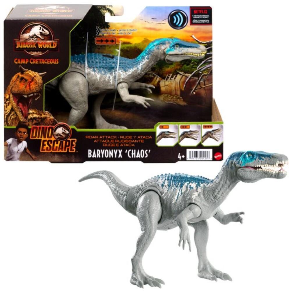 Jurassic World - Mattel - Jurassic World Roar Attack Baryonyx (Chaos)