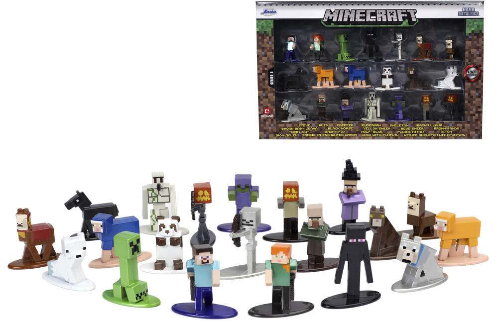- Nano Metalfigs Minecraft 20 Pk Wave 5 (Clcb) (Fig)