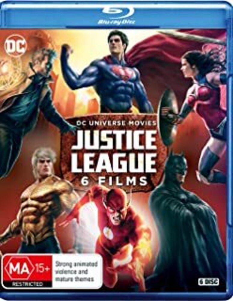 - Dc Justice League: 6 Films Collection (6pc)