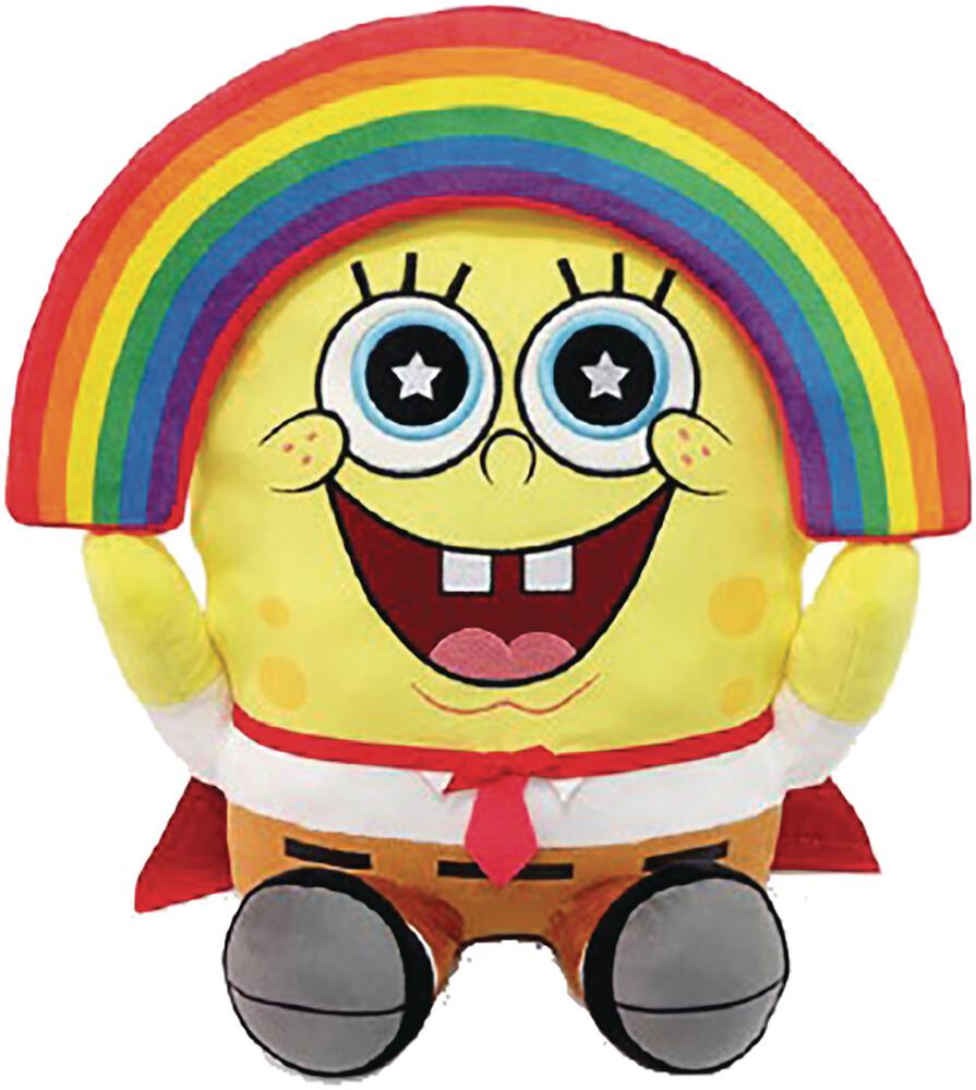 - Spongebob Squarepants Rainbow Hugme 16in Plush