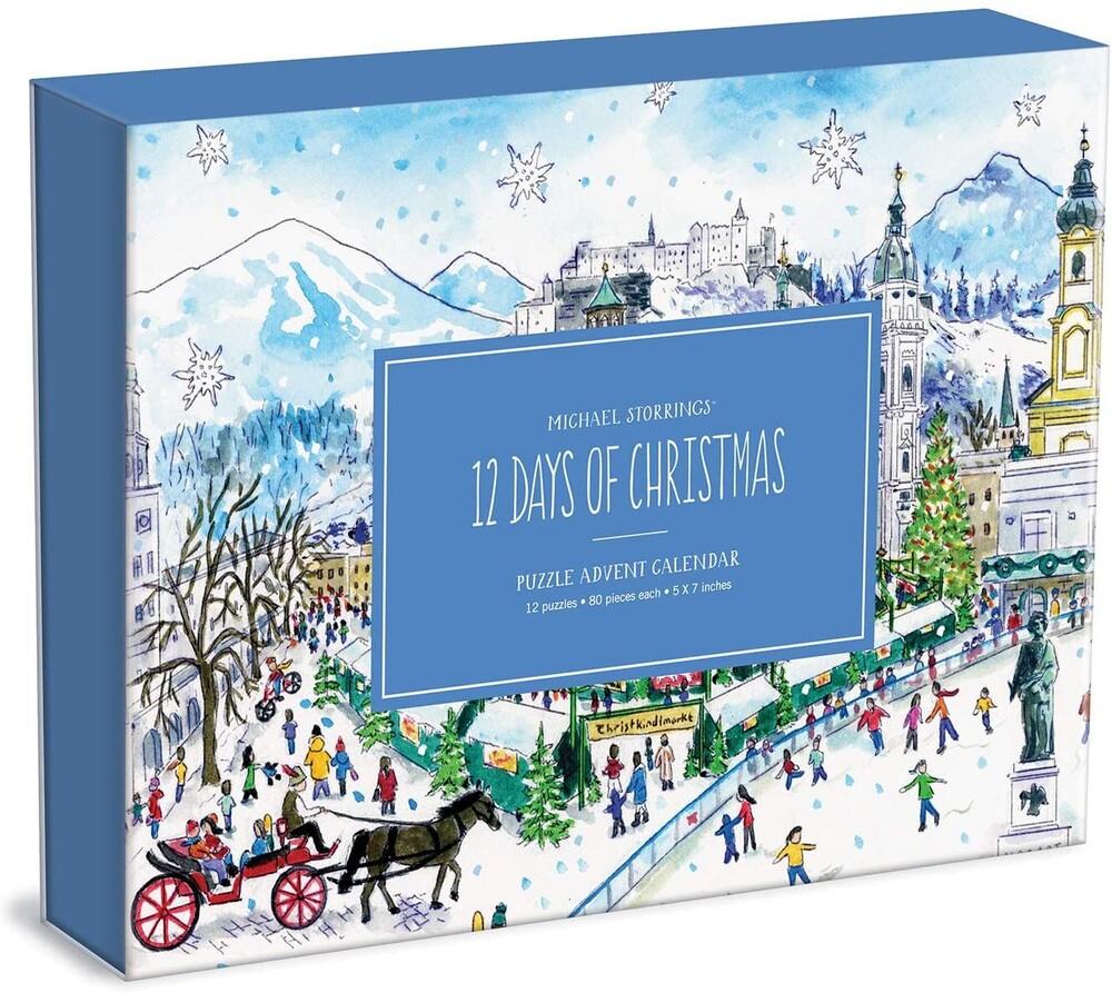 - 12 Days Of Christmas Advent Puzzle Calendar (Cal)