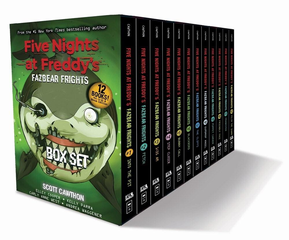Scott Cawthon  / Breed-Wrisley,Kira - Fazbear Frights Box Set (Box) (Ppbk) (Ser)