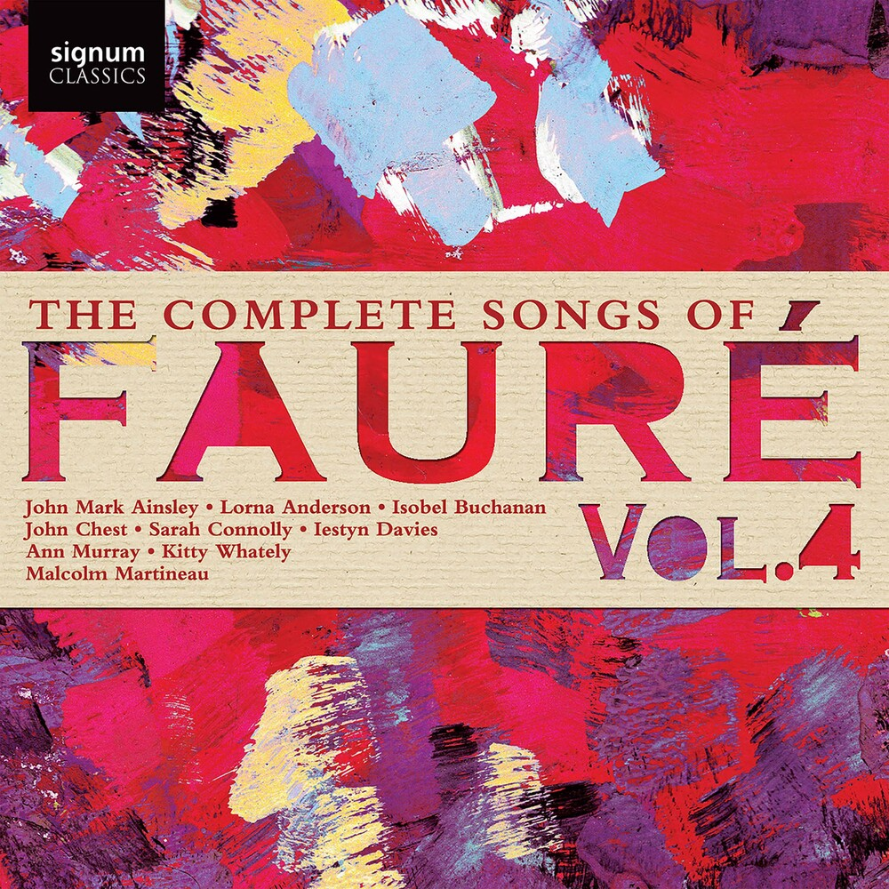 Faure - Complete Songs Faure 4
