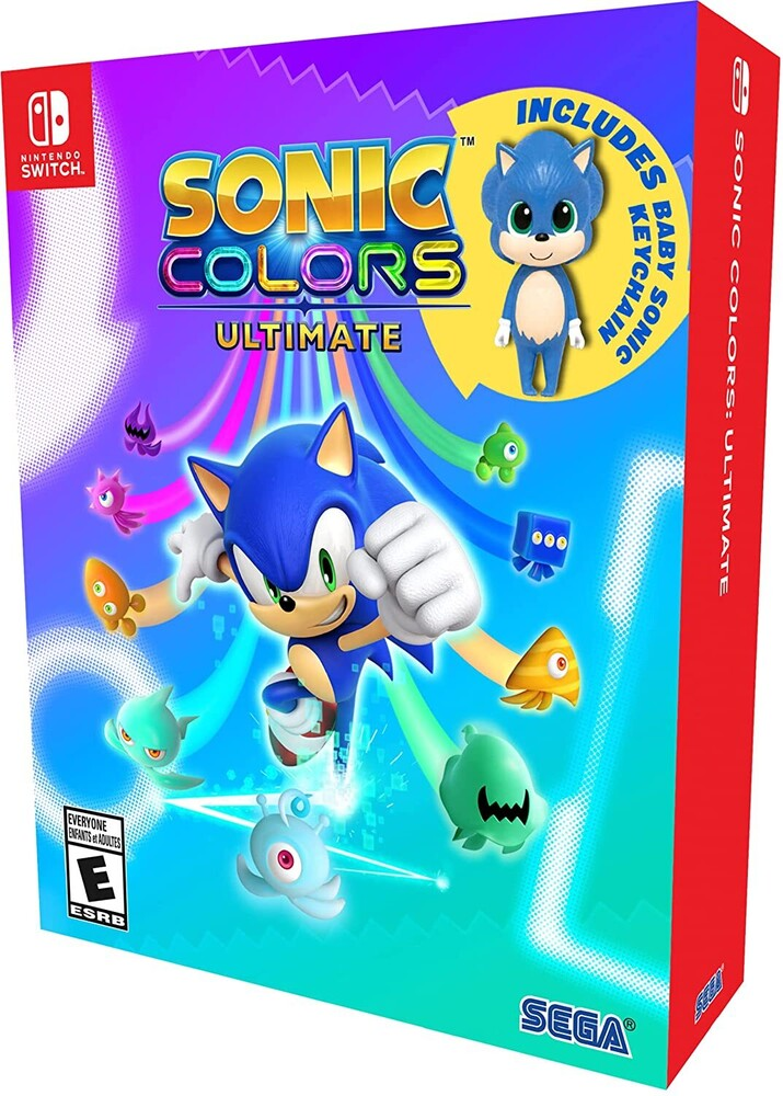 Swi Sonic Colors Ultimate - Launch Ed - Sonic Colors Ultimate: Launch Edition for Nintendo Switch