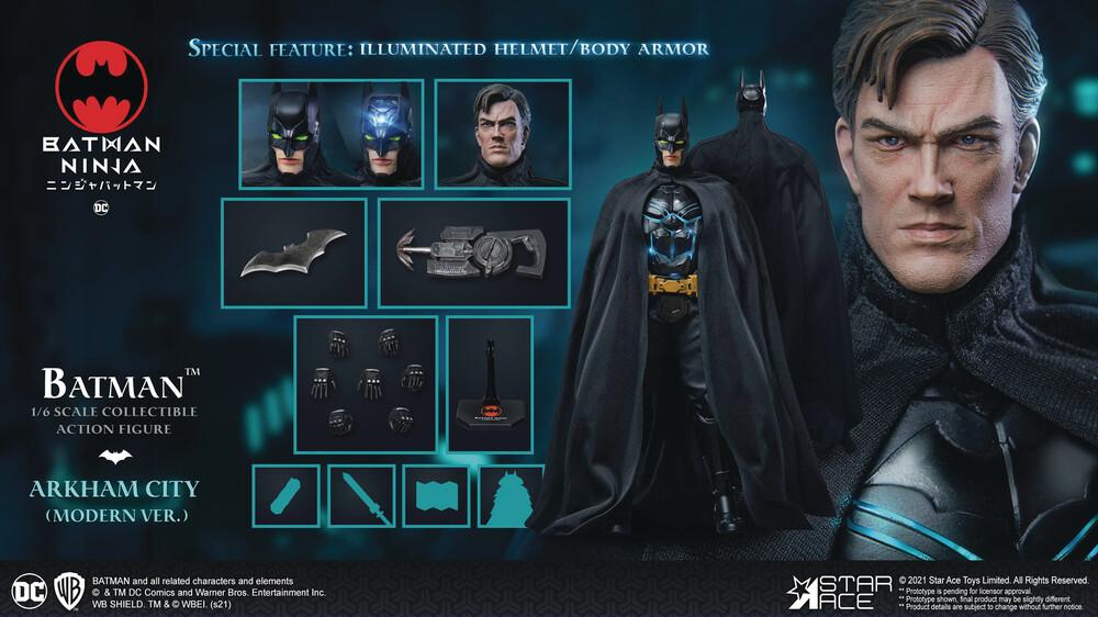 - Batman Ninja Modern Batman 1/6 Coll Af Dlx Ver (Ne