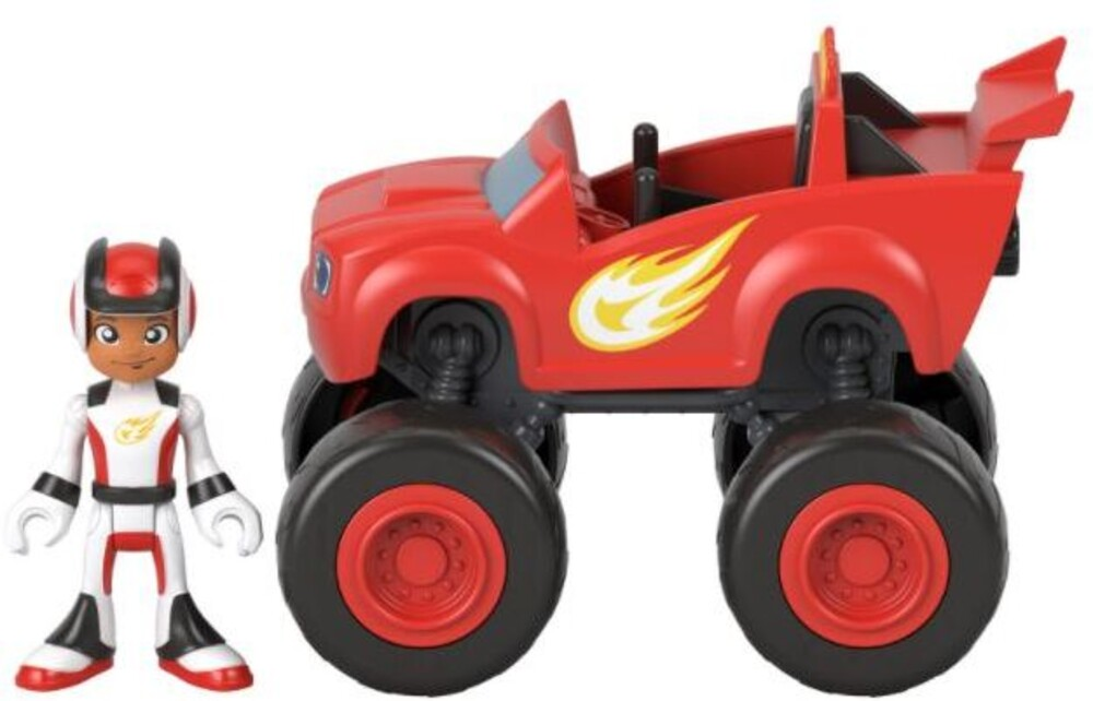 Blaze and the Monster Machines - Blaze And The Monster Machine Vehicle Asrt (Asso)