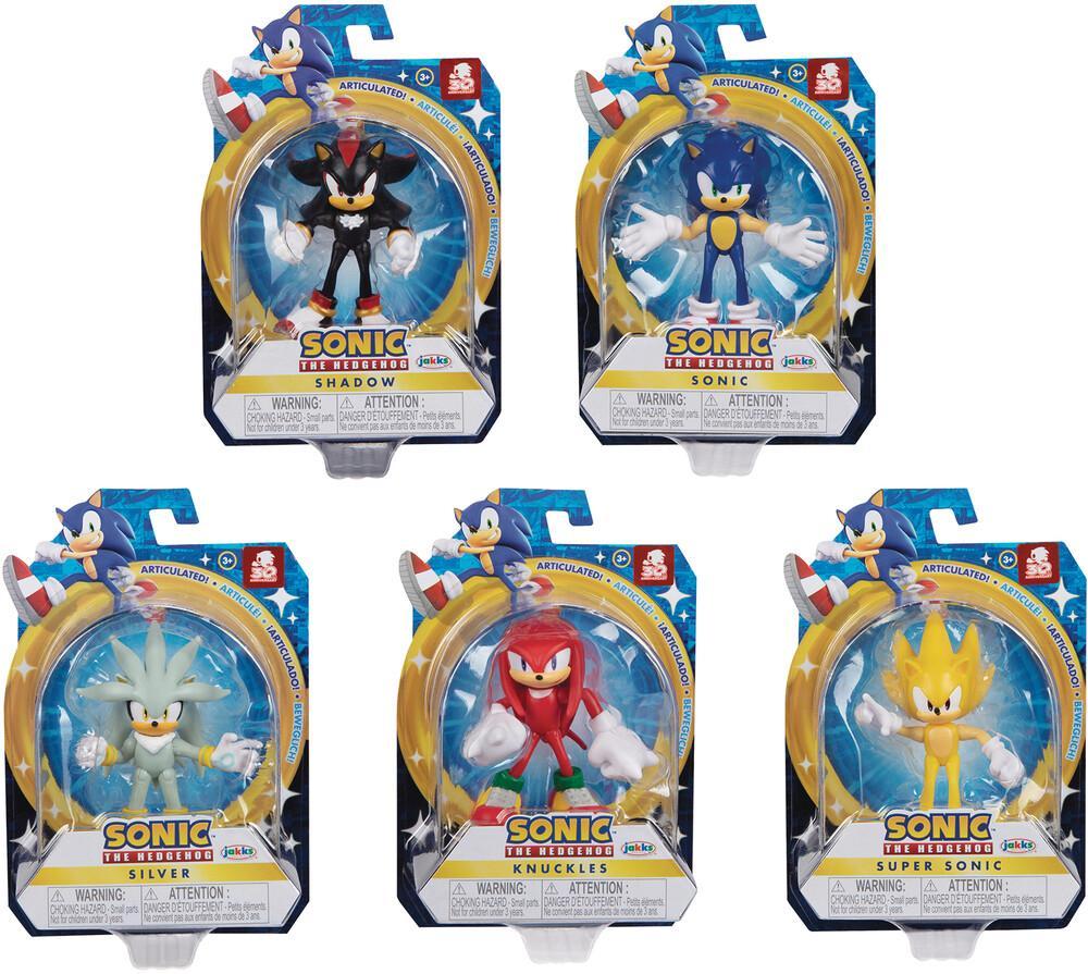 - Sonic The Hedgehog 2-1/2in Af Wv4 Asst (Net)