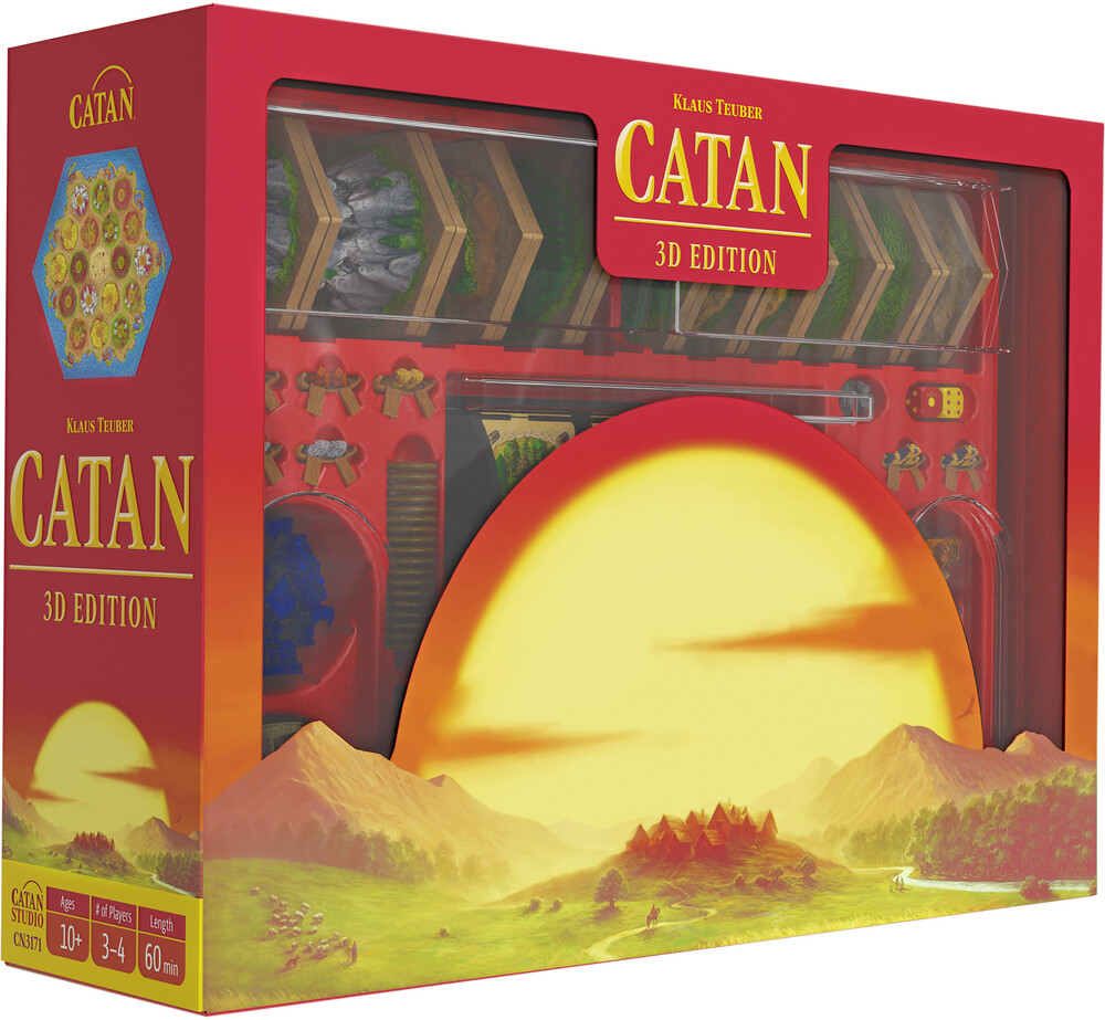 Catan - 3D Edition - Catan - 3d Edition (Ttop) (Wbdg)