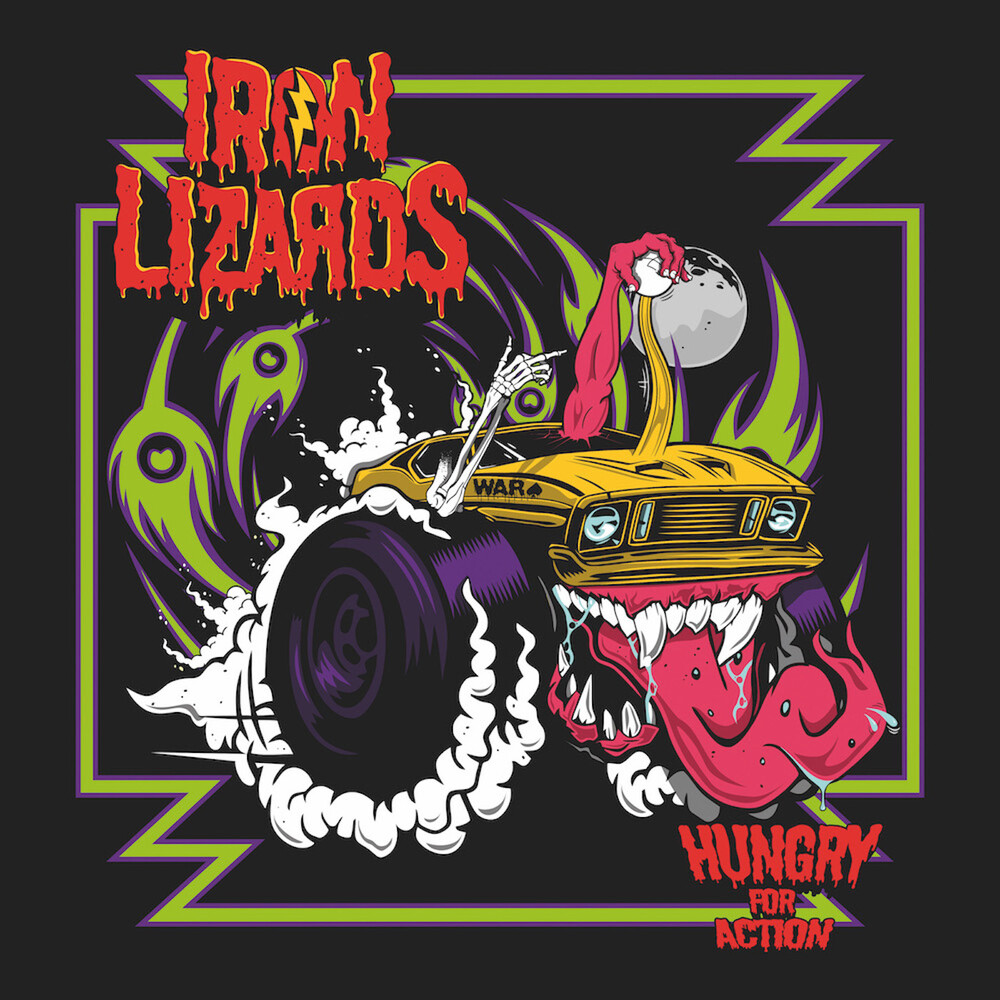 Iron Lizards - Hungry For Action [Colored Vinyl] [Limited Edition] (Purp)