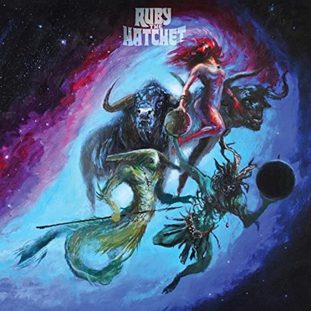 Ruby the Hatchet - Planetary Space Child (Midnight Blue Vinyl) (Blue)