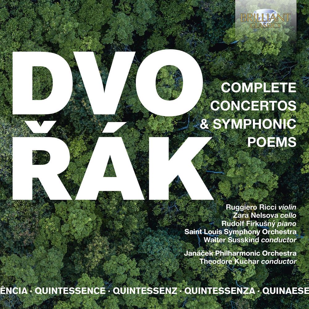 Dvorak / Ricci / Kuchar - Concertos & Symphonic Poems (Box)