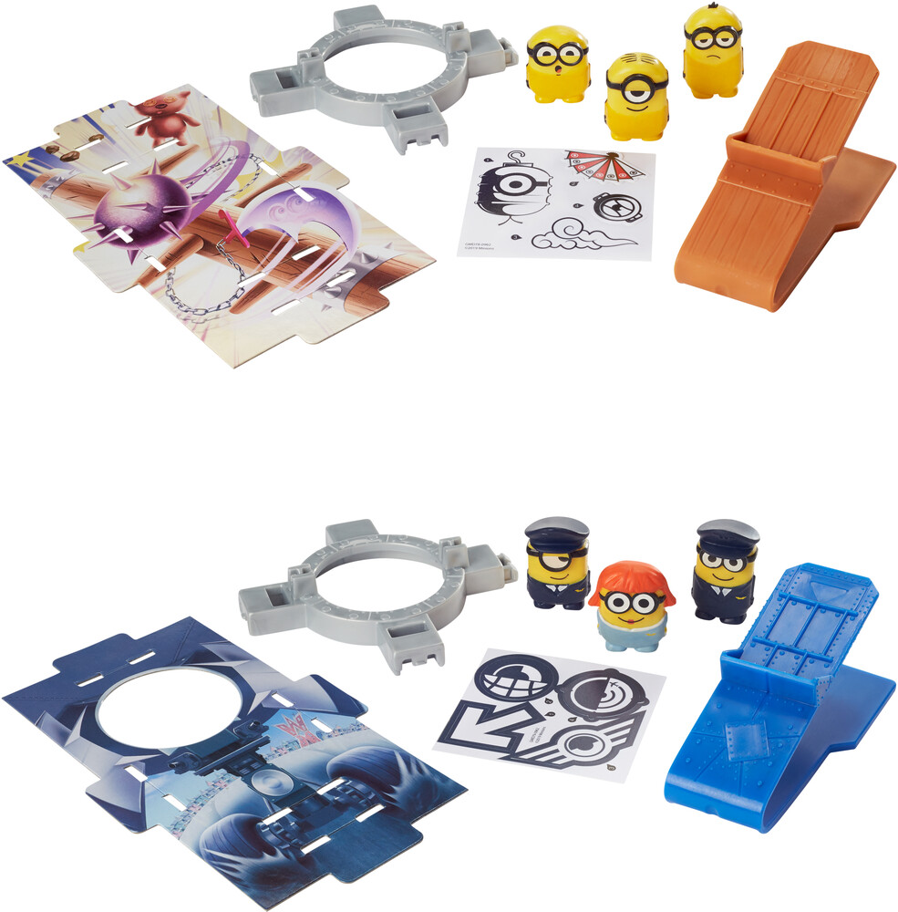Minions - Mattel - Minions Splat 'Ems Multipack Assortment (DreamWorks)