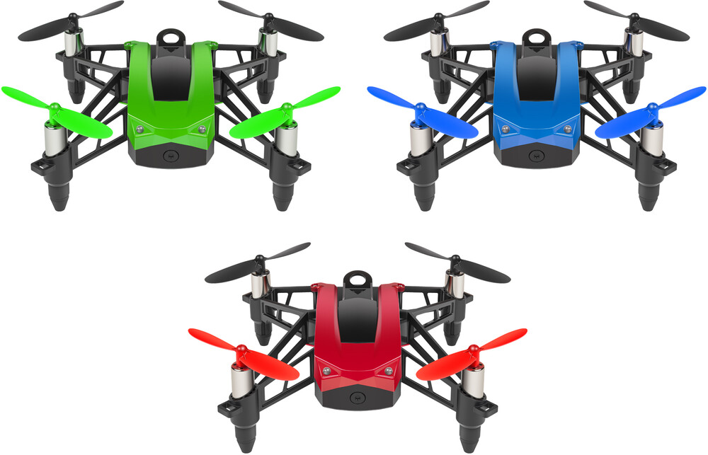Rc Drone - Goblin Racing Drone 2.4GHz 4.5ch RC Quadcopter (One random color per transaction. Colors red, blue, green or yellow.)