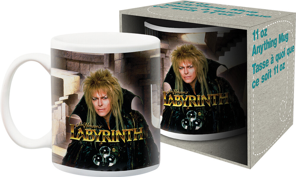 Labyrinth David Bowie Jareth 11Oz Mug Boxed - Labyrinth David Bowie Jareth 11oz Mug Boxed