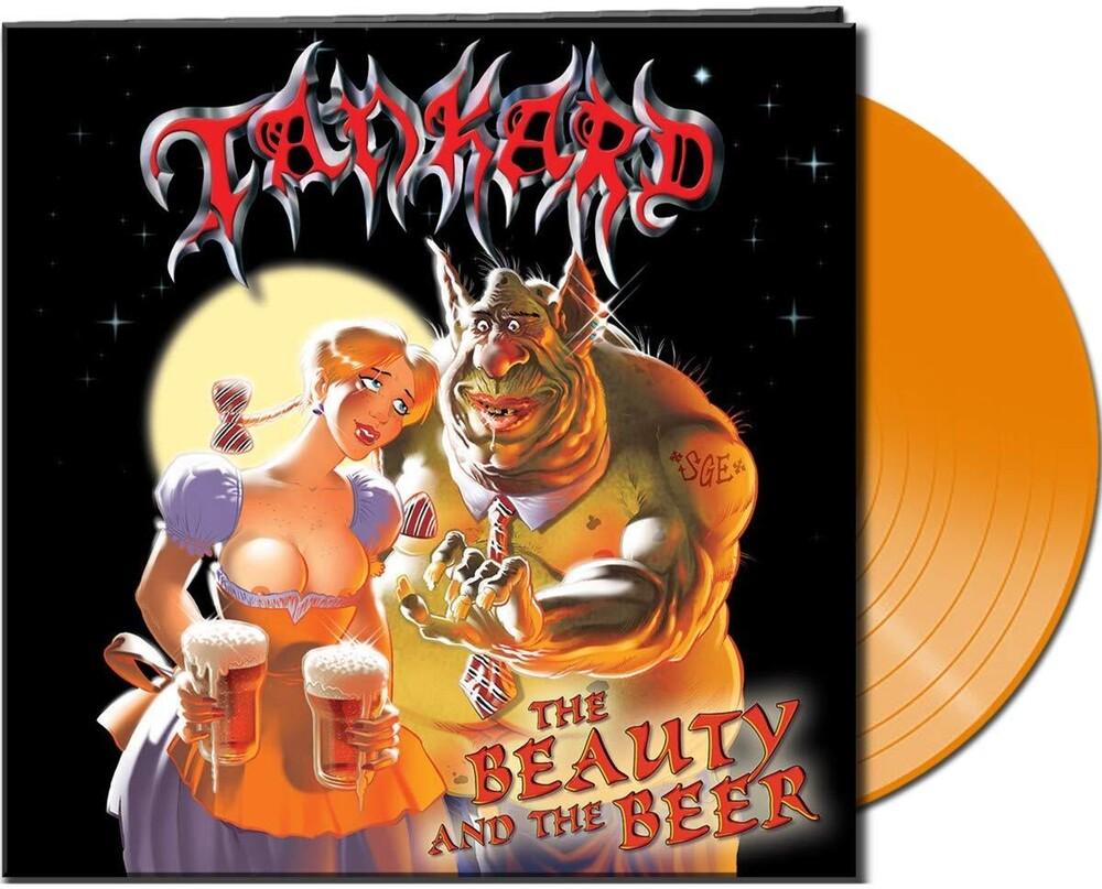 Tankard - Beauty & The Beer (Clear Orange Vinyl) (Cvnl)
