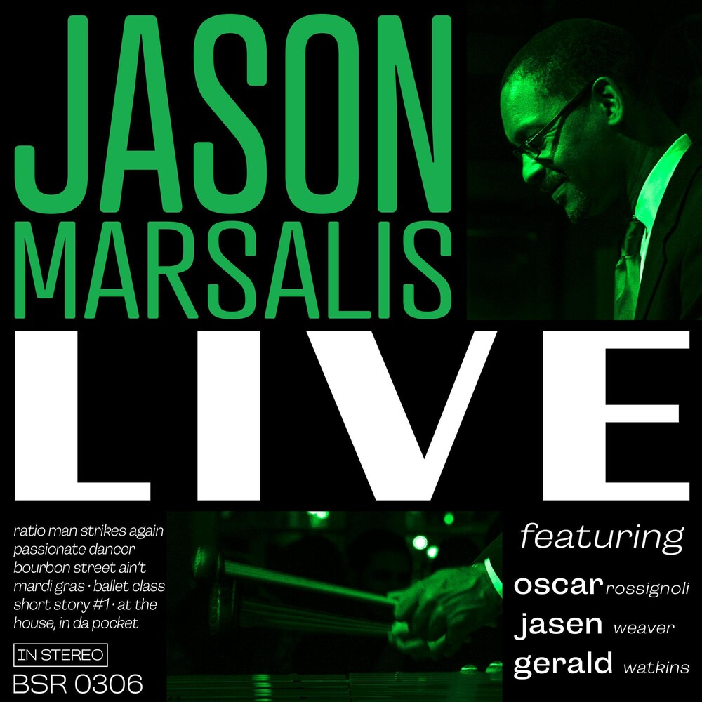 Jason Marsalis - Jason Marsalis Live