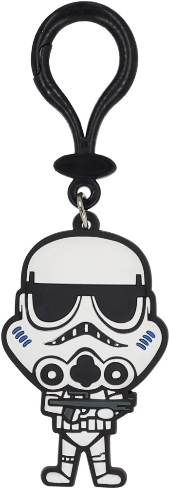 Star Wars Stromtrooper Pvc Soft Touch Bag Clip - Star Wars Stromtrooper PVC Soft Touch Bag Clip