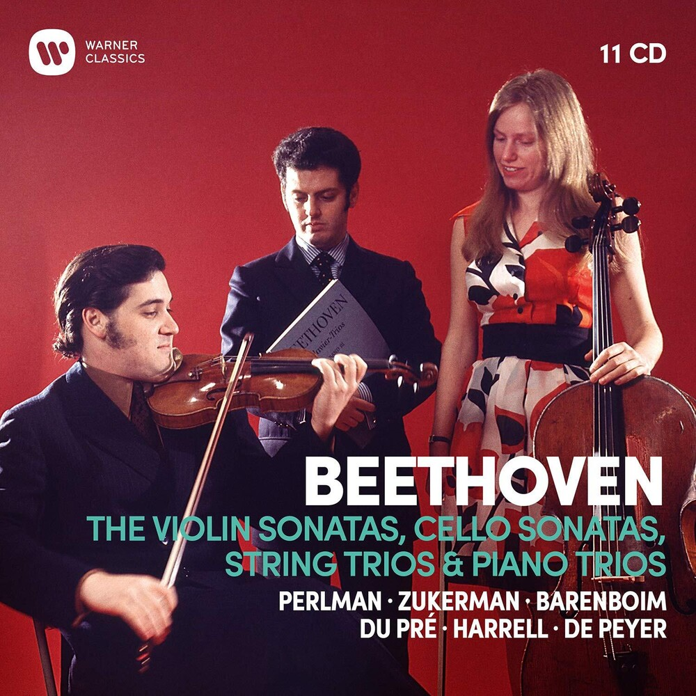 Itzhak Perlman / Zukerman,Pinchas - Beethoven: Complete Violin Sonatas Cello Sonatas