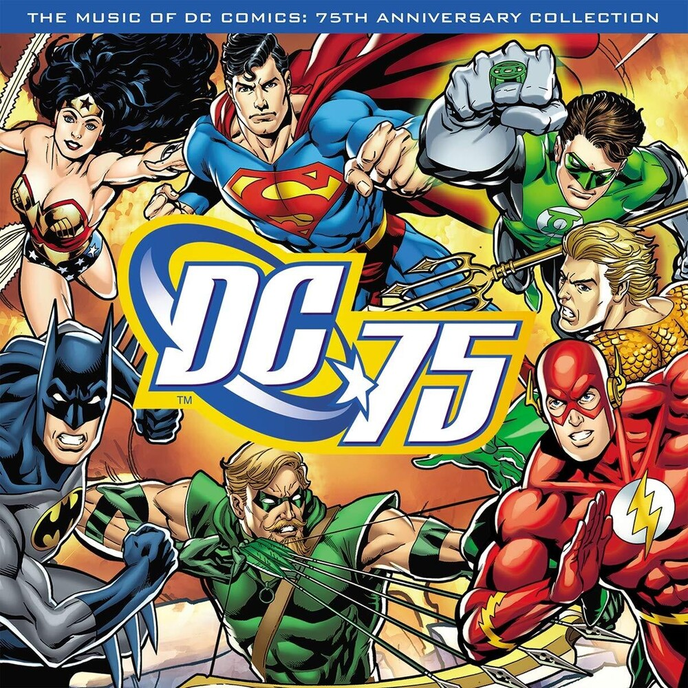 Music Of Dc Comics 75th Anniversary / Various - Music Of Dc Comics: 75th Anniversary / Various