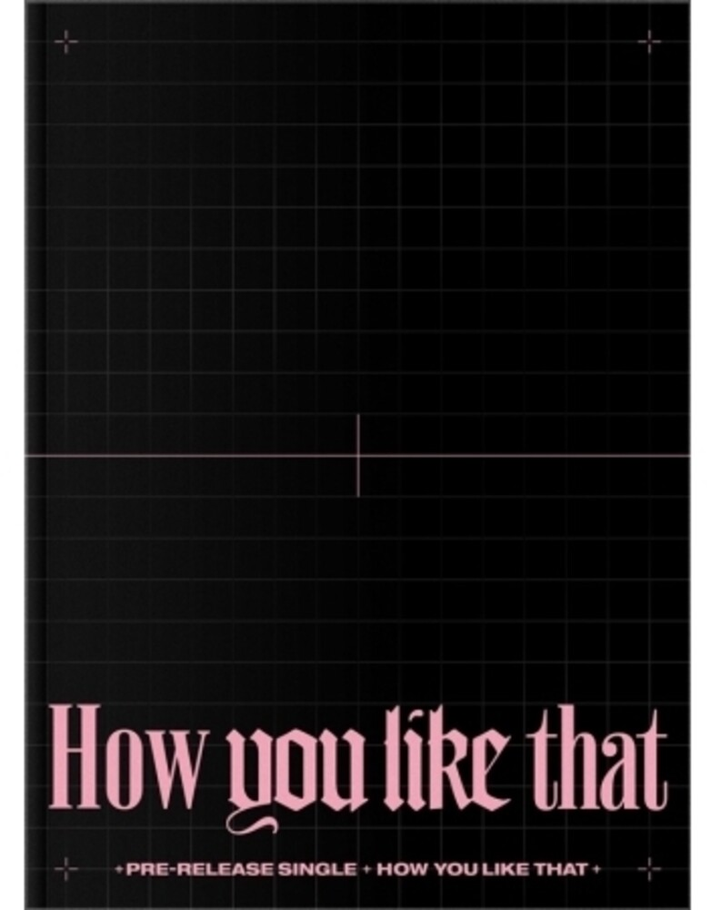 BlackPink - How You Like That (Post) (Phob) (Phot) (Asia)