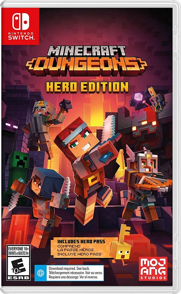 Swi Minecraft Dungeons Hero Edition - Minecraft Dungeons Hero Edition for Nintendo Switch