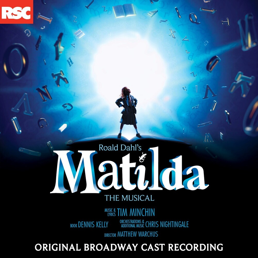 Matilda The Musical OBCR - Matilda The Musical (O.B.C.R.) (Blue) (Gate)