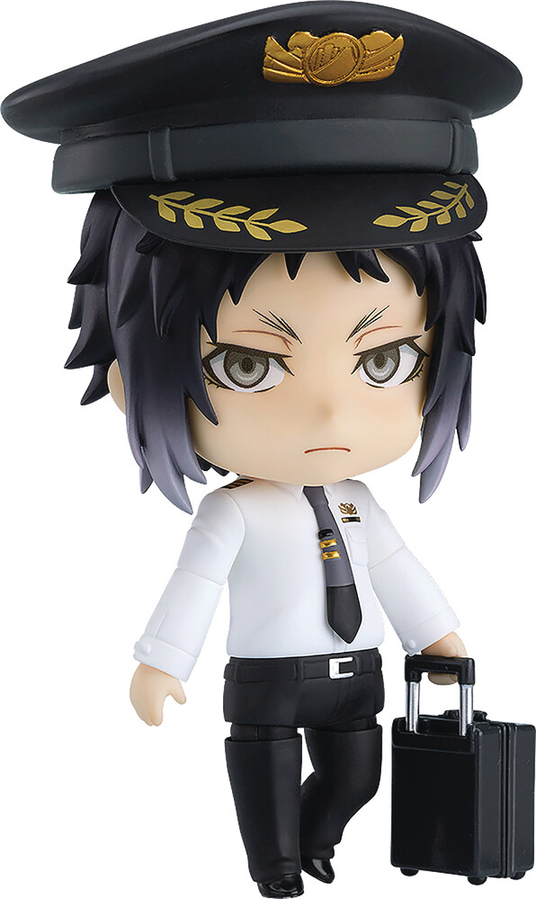 Good Smile Company - Good Smile Company - Bungo Stray Dogs Ryunosuke Akutagawa NendoroidAction Figure Airport