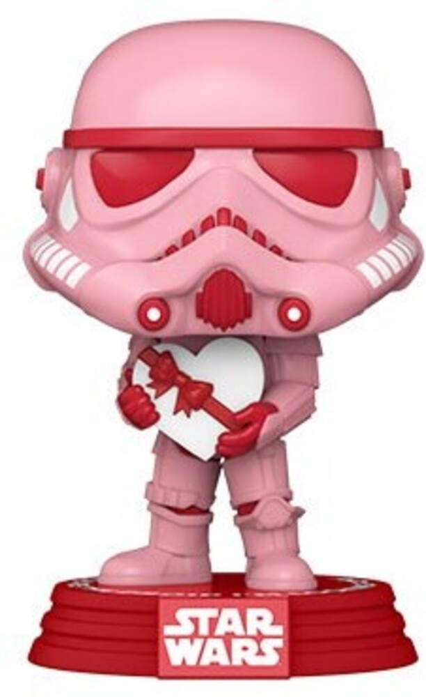 Funko Pop! Star Wars: - FUNKO POP! STAR WARS: Valentines- Stormtrooper w/Heart