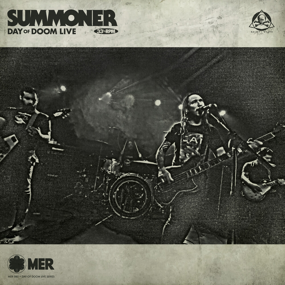 Summoner - Day Of Doom Live [Digipak]
