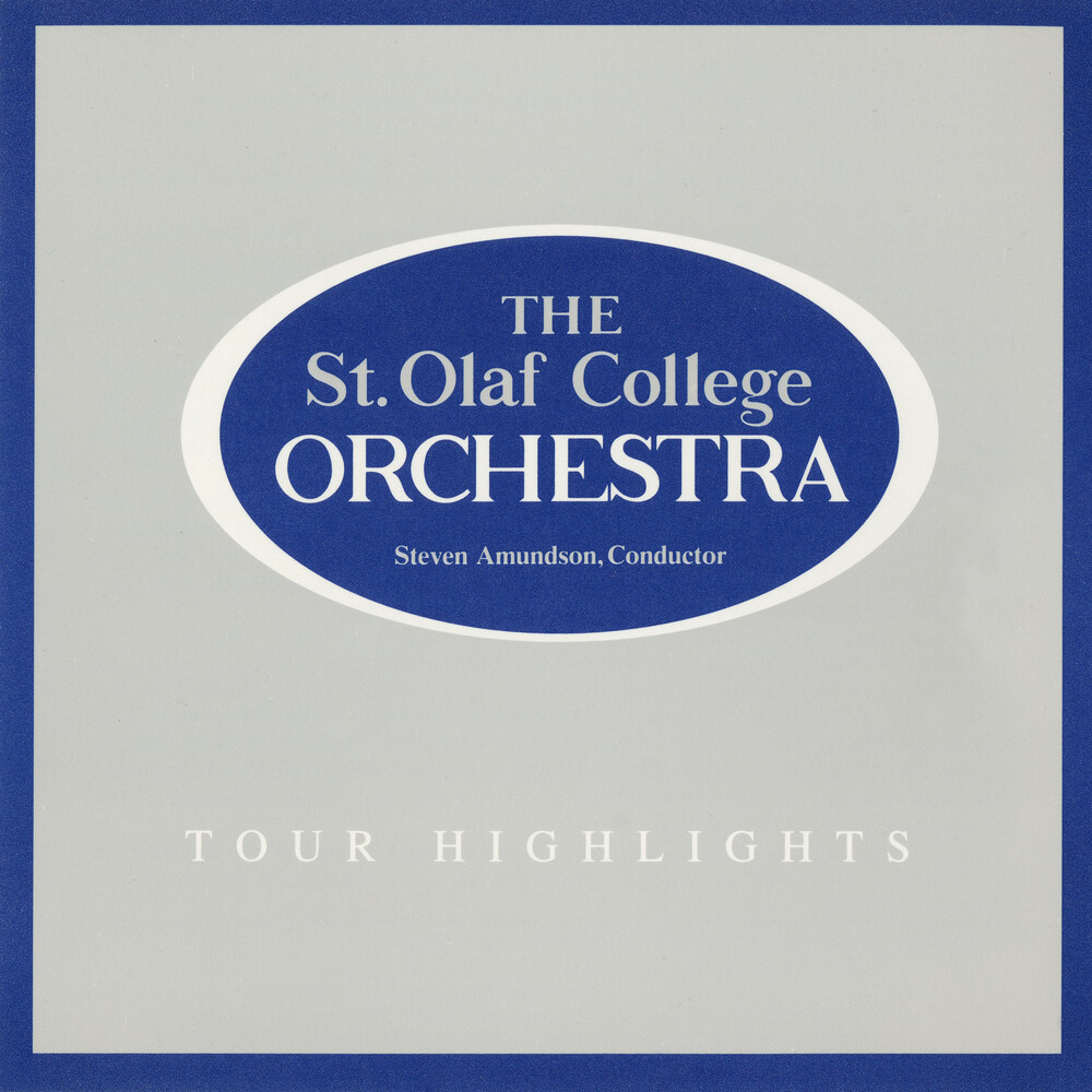 St. Olaf Orchestra - Tour Highlights