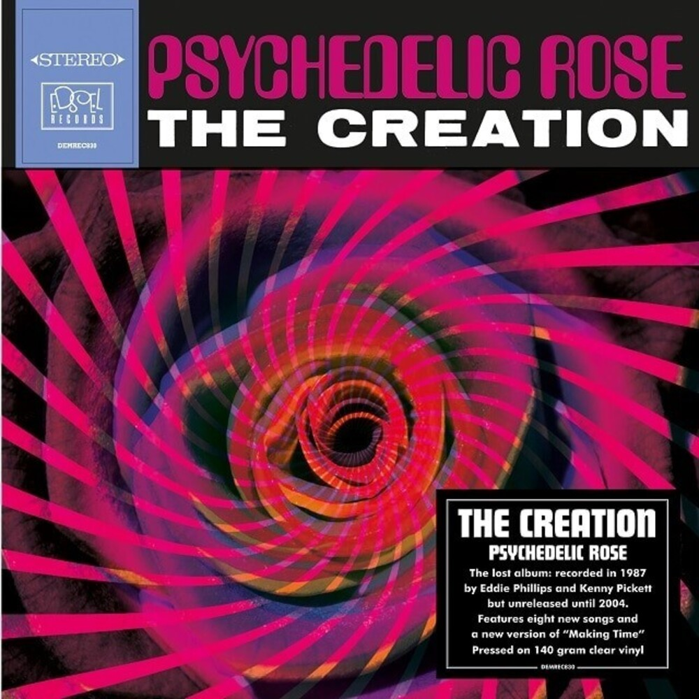 Creation - Psychedelic Rose [140-Gram Clear Vinyl]