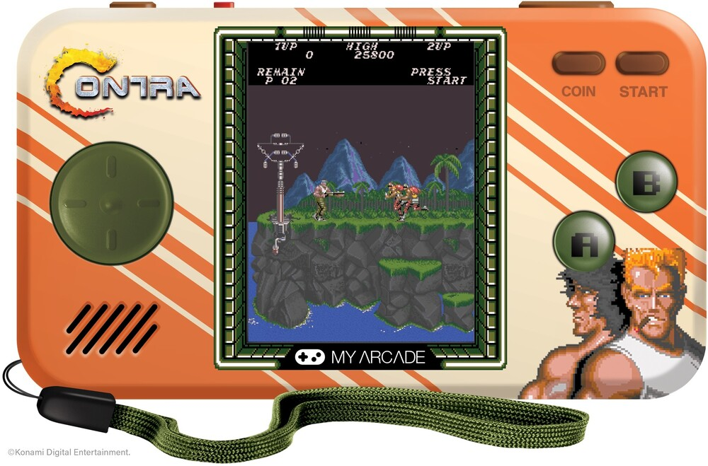 My Arcade Contra Micro Player Handheld Edition - Contra Micro Player Handheld edition