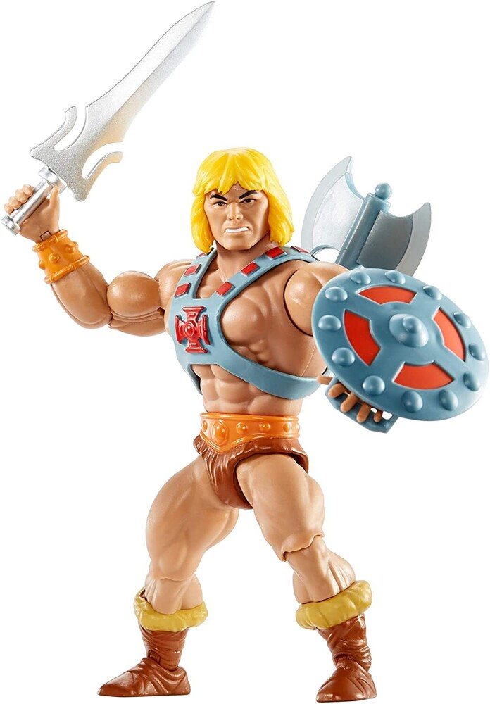 "Masters Of The Universe - Mattel Collectible - Masters of the Universe Origins 5.5"" He-Man (He-Man, MOTU)"