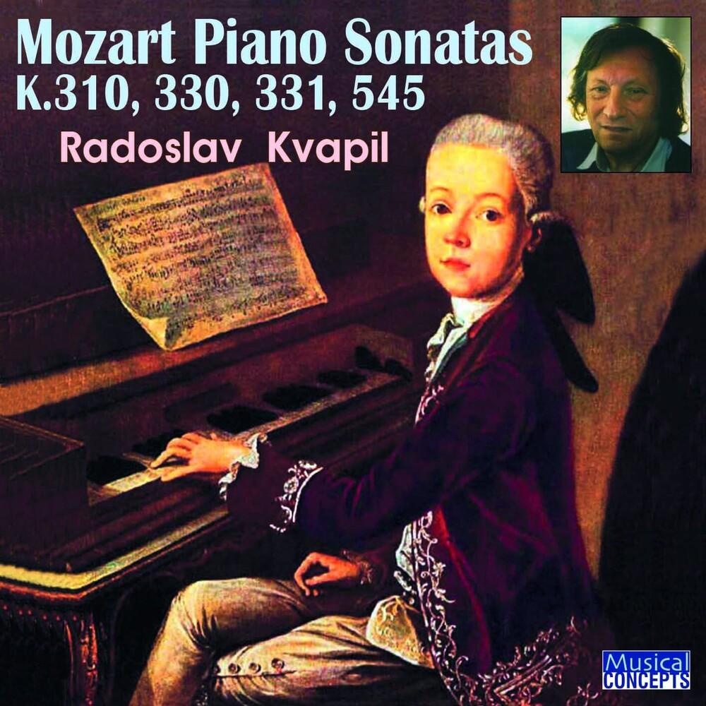 Radoslav Kvapil - Mozart Piano Sonatas Nos. 8,10,11,15, K.301,330,331,545