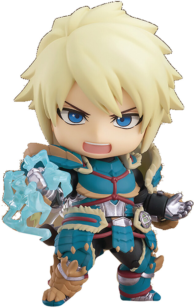 Good Smile Company - Good Smile Company - Monster Hunter World Ice Male Zinogre NendoroidAction Figure Deluxe Version