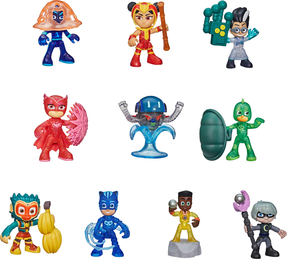 Pjm Buildable Blind Bags - Hasbro Collectibles - Pj Masks Buildable Blind Bags