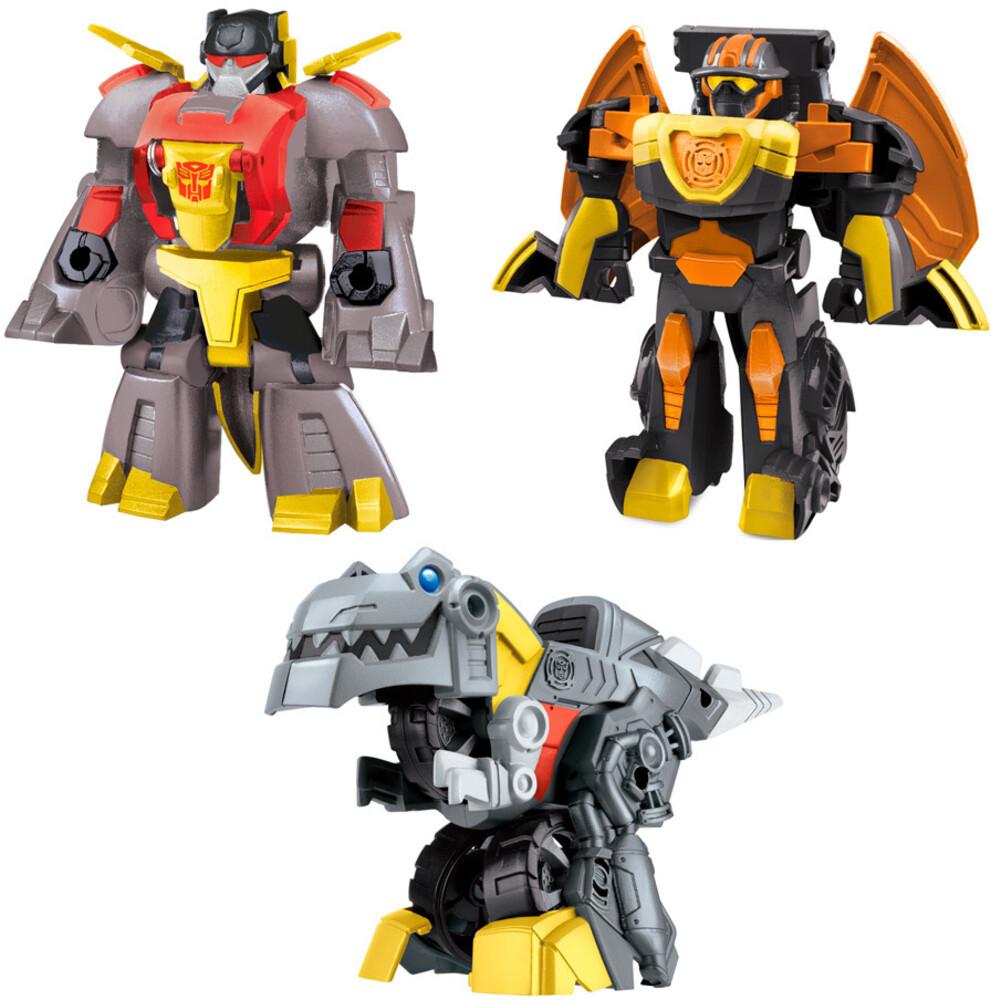 Tra Dino Rescan 3Pk - Hasbro Collectibles - Transformers Rescan 3 Pack