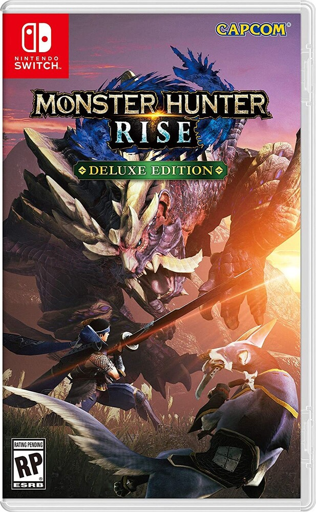 Swi Monster Hunter Rise - Deluxe Edition - Monster Hunter Rise Deluxe Edition for Nintendo Switch