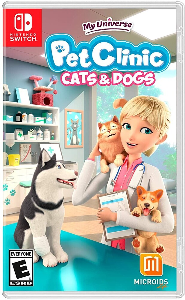 Swi My Universe - Pet Clinic: Cats & Dogs - My Universe - Pet Clinic: Cats & Dogs for Nintendo Switch