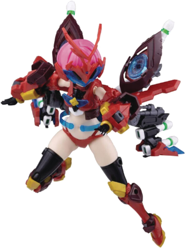 Passage - Passage - Atk Girl Heracross 1/12 Plastic Model Kit